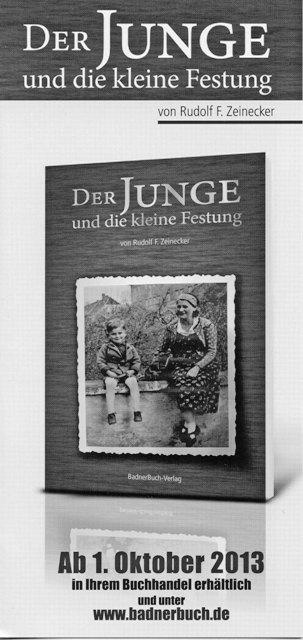 Lebensgeschichte Rudolf F. Zeinecker, Hasloh