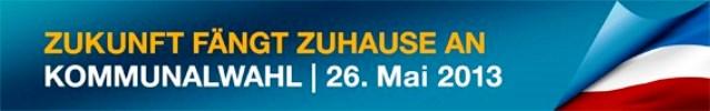 Kommunalwahl 26.05.2013