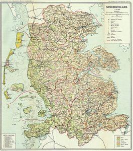 Landesteil Nordschleswig vor 1920