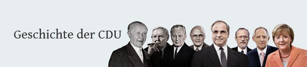 Geschichte der CDU