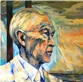 Ausschnitt Gemälde Konrad Adenauer Stiftung