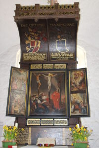 Altar in der KIche zu Brügge (Holstein)
